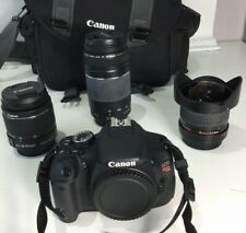 Canon EOS Rebel T3i DSLR Camera with 3 Lens (including FISHEYE 8mm)