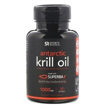 Sports Research, Antarctic Krill Oil with Astaxanthin, 1,000 mg, 30 Softgels