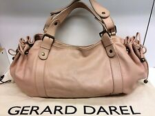 TBE Superbe Sac Gerard Darel 24H Rose Pale Nude