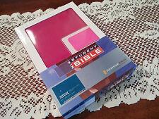 TWO COPIES --- 84 NIV Zondervan STUDENT BIBLE 1984 New International Version STU