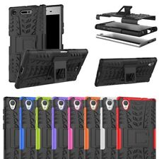 Sony Xperia L1/ L2 - Experia Hybrid Heavy Duty Shockproof Hard Stand Cover Case