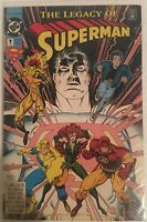 Superman: The Legacy of Superman #1 (Mar 1993, DC) - Rare Newsstand Variant!!!