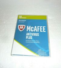 New Sealed in Box McAFEE ANTIVIRUS PLUS  S-62