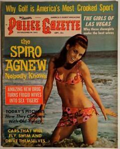 The National Police Gazette - September 1970 - Vintage Magazine - Susan Rowe