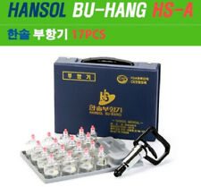 Hansol Professional Cupping Therapy Equipment Set HS-A 17pcs  Chinese Cupping