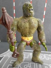 MOSS-MAN 1985 Vtg He-Man Masters Universe Action Figure Toy COMPLETE w/ Weapon