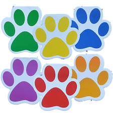 12 Paw Print Notepads|Puppy Party|Party Favours|Party Bag Fillers