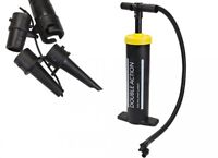 DOUBLE ACTION AIR PUMP HAMMER MANUAL HAND BLOW INFLATES DEFLATES AIRBED BED POOL