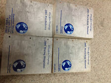 2001 MERCURY COUGAR Service Shop Repair Manual Set W EWD & Inspection Book