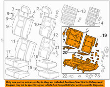 Chevrolet GM OEM 06-11 HHR Rear Seat-Cushion Frame 22732887