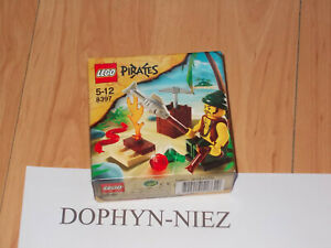 LEGO 8397 PIRATES CORSAIRE POISSON 1 figurine NEUF NEW never OPEN