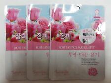 Korean Cosmetics {Natureby} Ultra Essence Rose Essence Mask Sheet pack, 3Sheet