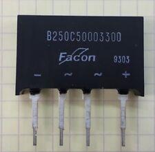 Bridge Rectifier manufactured by FACON part # B250C50003300