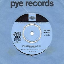 OLIVIA NEWTON-JOHN if not for you*the biggest clown 1971 UK PYE INTERNATIONAL 45