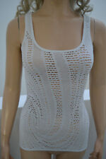 Wolford Galaxy Top Shirt Cotton Lace Large Sea white