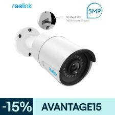 Reolink 5MP HD PoE IP Caméra de Sécurité avec Audio Nocturne Vision RLC-410