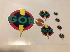 Custom Superhero Decals GOR Die Cut. Free Shipping!