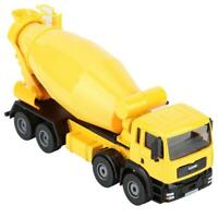 KaiDiWei 1:50 Scale Alloy Mixer Truck Engineering Vehicle Model Car Kids Toy
