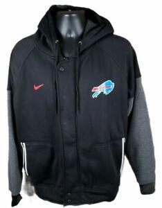 Nike Buffalo Bills Womens Hooded Full Zip Jacket Size Medium NEW