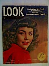 1947 February 18  Look Magazine  Annual Movie Awards Issue  VINTAGE ADS