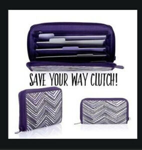 Thirty One Save Your Way Coupon Clutch Wallet Zip Zag Zoom 31 paper Inserts 9067