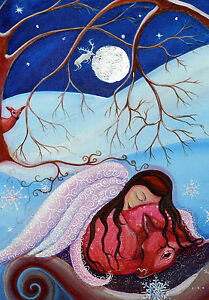 Pack of 10 Winter Solstice Greeting Cards, Christmas, Xmas, Yule