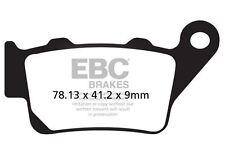 Ajuste DE BMW F 800 R (disco tiene bobinas fijo) 15 EBC Semi-sinterizado V Pad Set Trasero