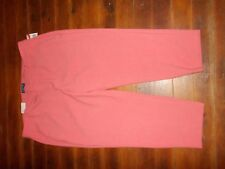 Old Navy Harper Mid Rise Cropped Pants 18 NEW NWT Melon Orange Peach