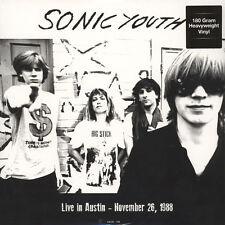 LP Sonic Youth - Live in Austin November 26 1988 180 Grammi Vinile