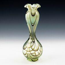 Thomas Webb Art Nouveau Filamentosa Vase c1880