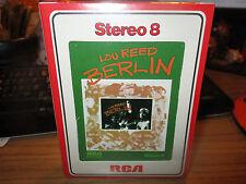 LOU REED Berlin 8 Track SEALED RCA APS1 0207 VELVET UNDERGROUND