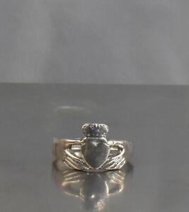 CrazieM Sterling 925 Silver Vintage Southwestern Estate Ring Size 5 2.5g x71