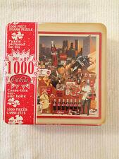 "Always Coca-Cola 1000 PC Tin Metal Box Jigsaw Puzzle 20""x27"" Sealed"