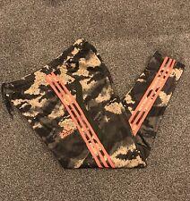 Adidas Tiro 19 Chándal Pantalones para Hombre Medio Camuflaje Con Naranja Modelo Raro
