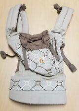 Ergobaby Organic Baby Carrier, Lattice/Taupe