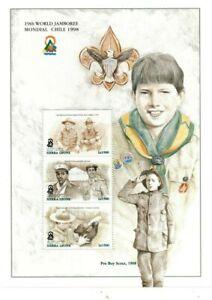 VINTAGE CLASSICS - Sierra Leone Boy Scouts - Sheet Of 3 - MNH
