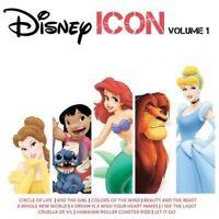 DISNEY Icon Volume 1 CD NEW The Lion King Little Mermaid Aladdin Tangled Frozen