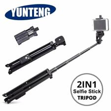 YUNTENG VCT-1688 Tripod Monopod Stand with Ball Head for Smartphone DSLR Camera
