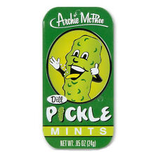 DILL PICKLE MINTS PICKLES FLAVORED BREATH MINT CANDY PICKEL FLAVOR GAG GIFT