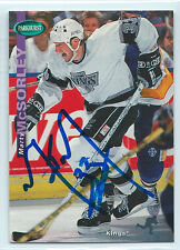 Marty McSorley signed 1994-95 Parkhurst hockey Los Angeles Kings autograph #106
