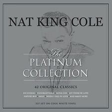 DISOCUNTED Nat King Cole PLATINUM COLLECTION 150g BEST OF New COLORED VINYL 3 LP