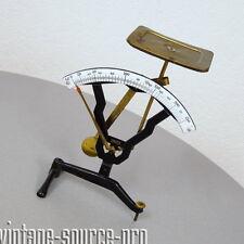 IMAZ Emaille Metall Tisch Waage Briefwaage bis 250 Gramm mid Century 50er Jahre