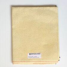 Zweigart Silkweavers 14 count aida 18 x 21 Metallic gold Yellow Dust