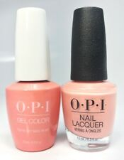 OPI GelColor + Matching Lacquer You've Got Nata On Me #L17