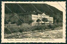 Trento Predazzo Guardia di Finanza Scuola Alpina Foto cartolina EE5583