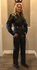 Women's Harley Davidson Leather Riding Jacket and Chaps