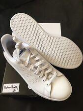 Adidas Advantage Trainers UK 9 White Brand New in Box Tennis Stan Smith