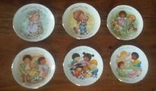 6 Vintage Avon Mothers Day Plates Trimmed In 22 K Gold