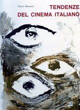 Vinicio Marinucci Tendenze del cinema italiano Unitalia Film 1959  R
