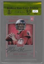 2013 Elite Inscriptions Mike Glennon Blue Ink Auto Rc BGS RAW 9.5 & 10 Auto
